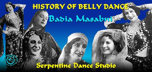 History of Belly Dance - Badia Masabni