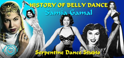 History of Belly Dance - Samia Gamal